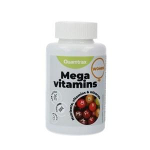 Suplemento de Mega Vitaminas para Mujeres Essentials Quamtrax