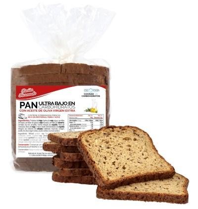 Pan Proteico Ultra Bajo en Carbohidratos CSC Foods