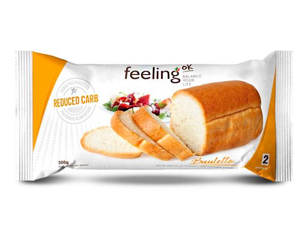 Pan de molde, bollitos y piquitos reducidos en carbohidratos FeelingOk