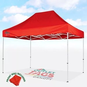 10x15 Canopy Red