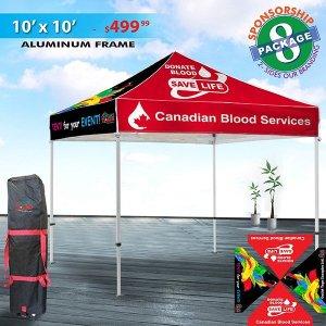 Custom Tent Package 8 - Sponsorship Deal