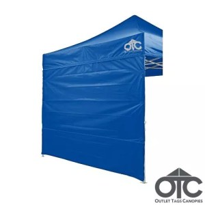 Full Back Tent Wall Colour Blue