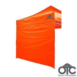 Full Back Tent Wall Colour Orange