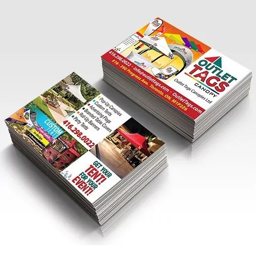 Business Cards  sc 1 st  Outlet Tags & Business Cards | Outlet Tags Canopies Canada - CanopiesTentsBanner ...