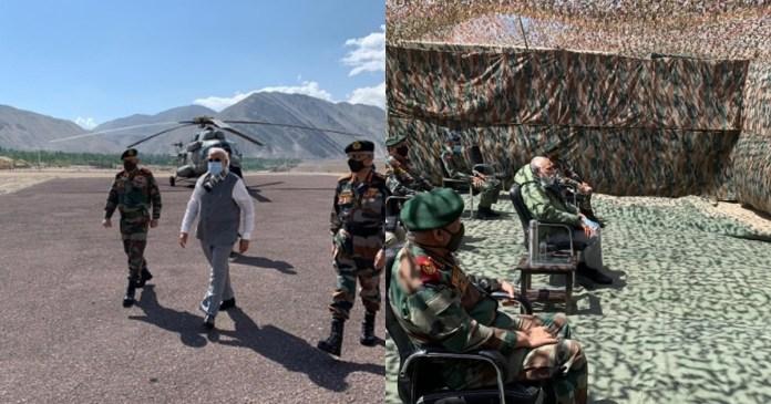 PM Modi in Ladakh