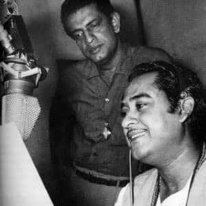 kishor kumar with satyajit roy