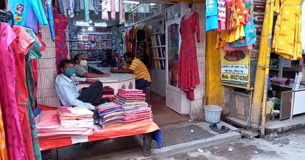 stores are open but no customers at rampurhat