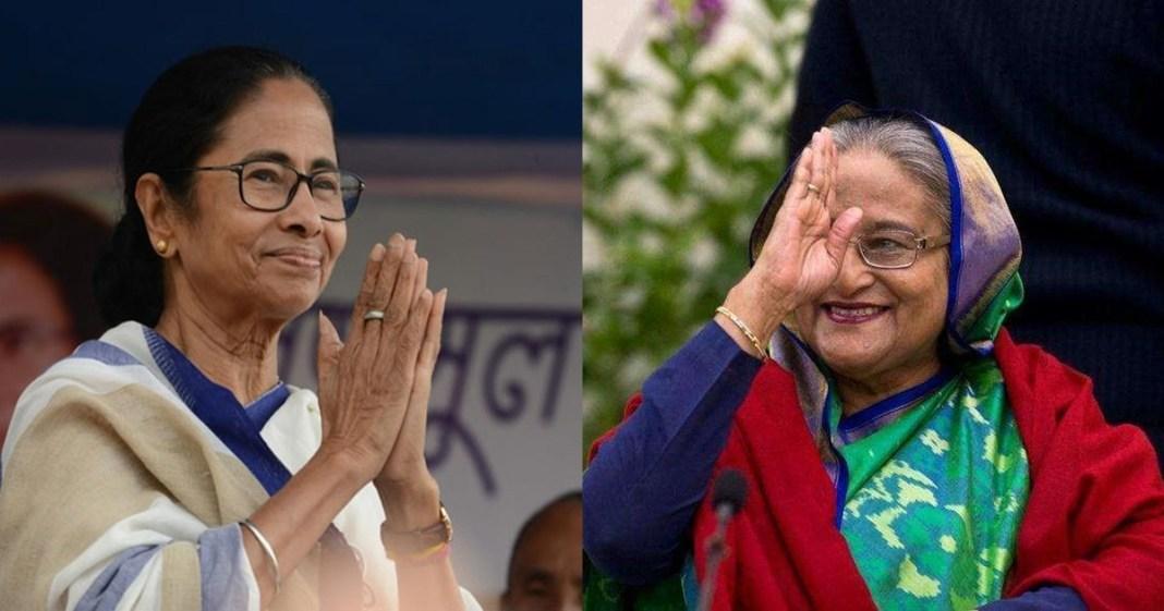 Bangladesh PM Sheikh Hasina sent a gift to cm Mamata Banerjee on the occasion of Durga Puja 2020