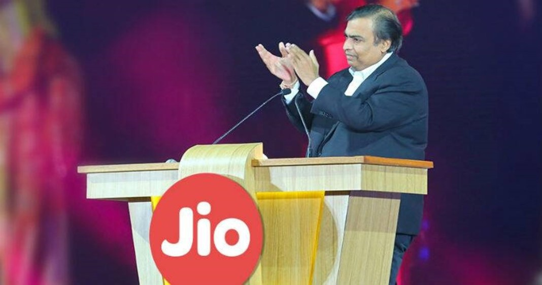 All calls from Jio to other networks in India to be free from January 1