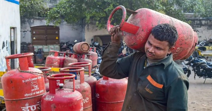 At the beginning of the month, the price of cooking gas increased by 50 rupees