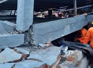 At least 30 people have been killed in a devastating earthquake in Indonesia