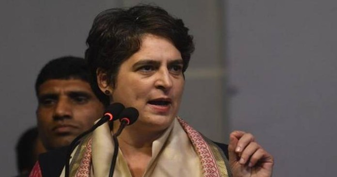 Farmers' protest Priyanka Gandhi said that no argument of the Center would be heard except the repeal of three agricultural laws