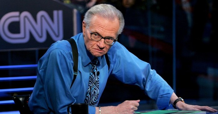 Popular US presenter Larry King has died