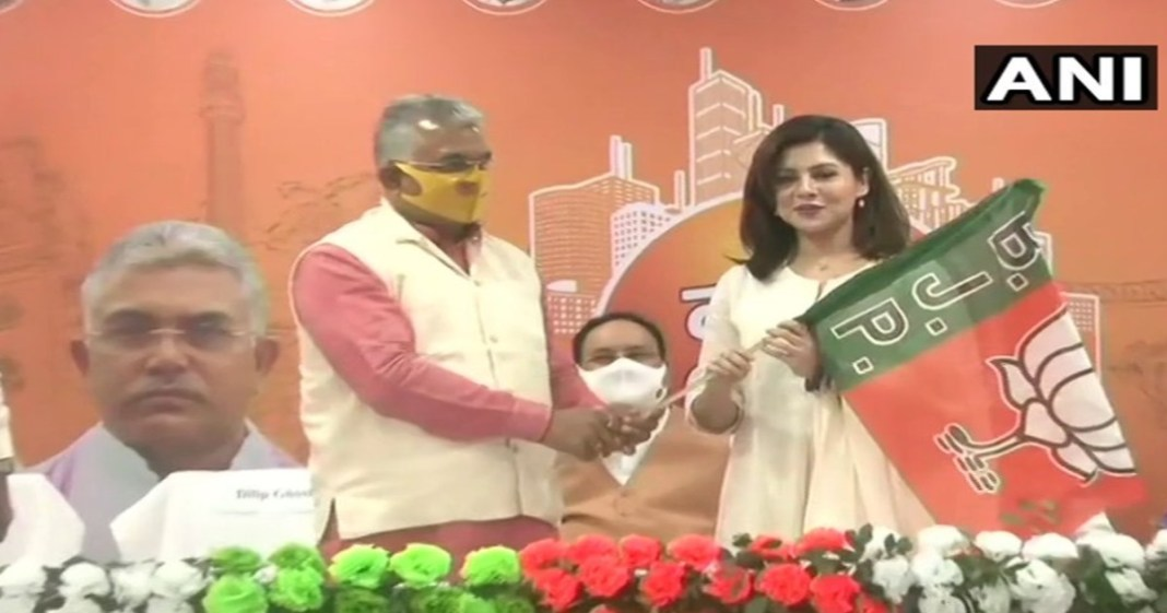Tollywood Actor Payel Sarkar Joins BJP