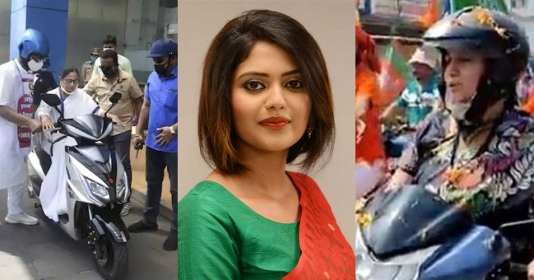 Tollywood actress saayoni ghosh attacks smriti irani