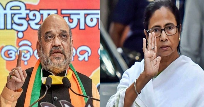 Elections 2021 Amit-Mamata fight fiercely in election campaign