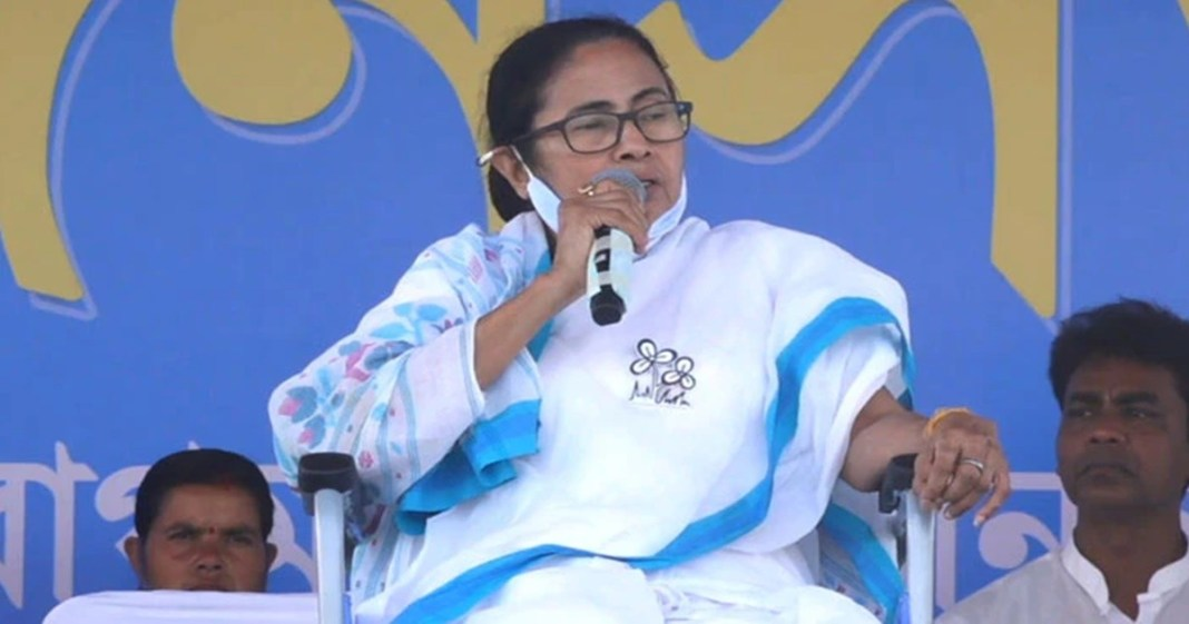 Mamata Banerjee a public rally at Purulia