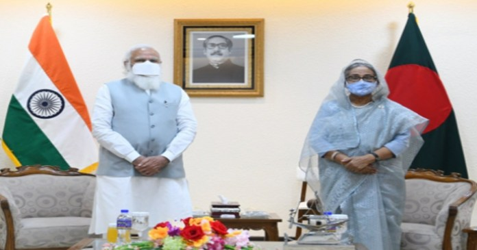 PM Modi holds talks with Sheikh Hasina, India signs 5 MoUs