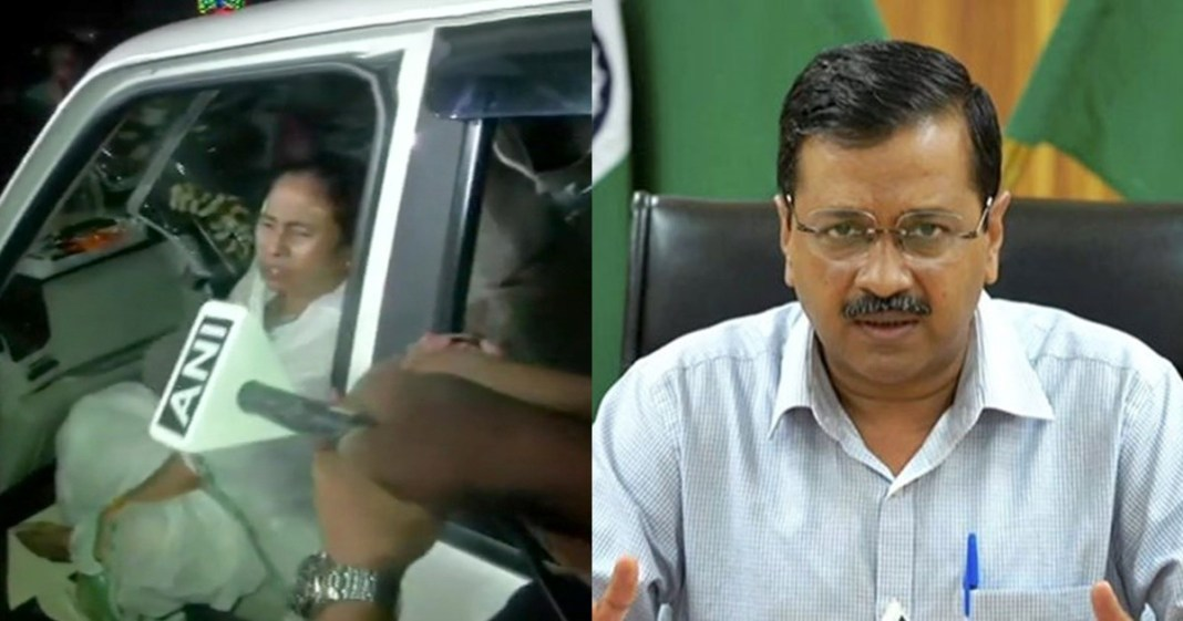 arvind kejriwal said condemn the attack on Mamta Didi. Those responsible shud be immediately arrested and punished. I pray for her speedy recovery·