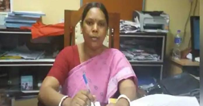 tmc replaces habibpur canidadate sarala murmu