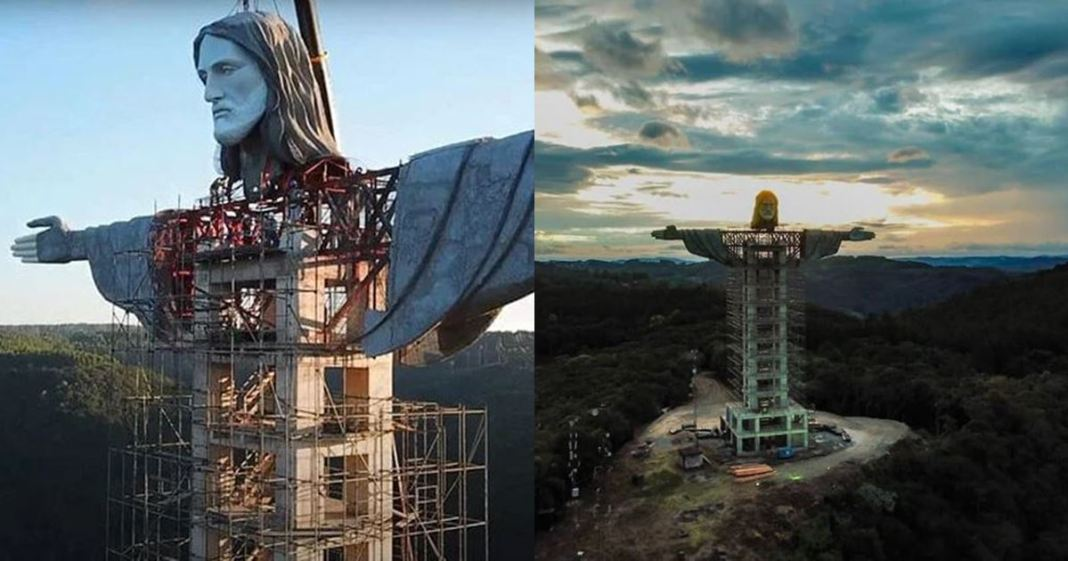 Brazil is building a newest jesus statue and it's going to be taller than rio de janeiro's iconic 'christ the redeemer'