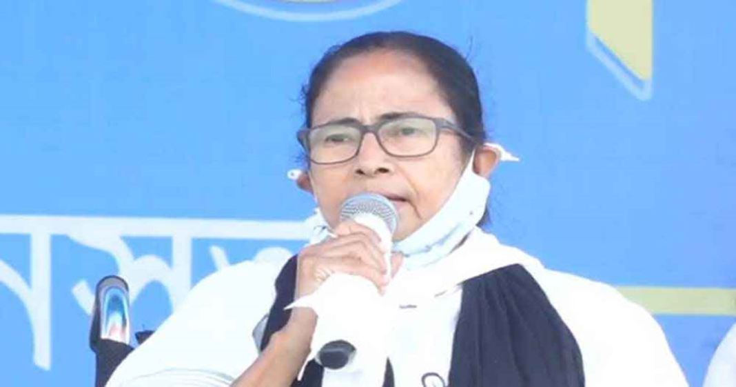 Chief Minister Mamata Banerjee blames BJP's 'outsiders' for increasing corona in the state