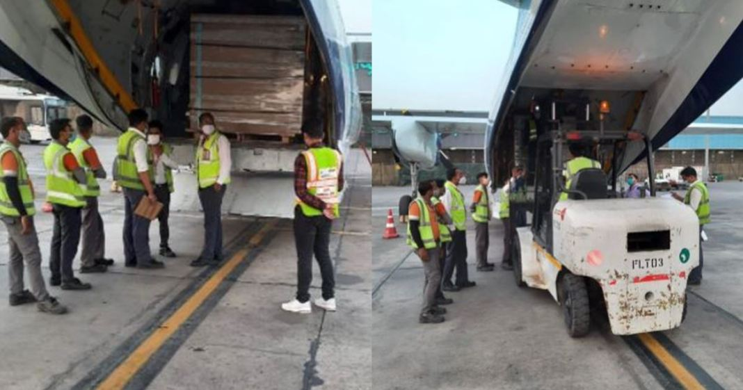 Consignment of 9000 vials of Remdesivir arrives in India from Belgium
