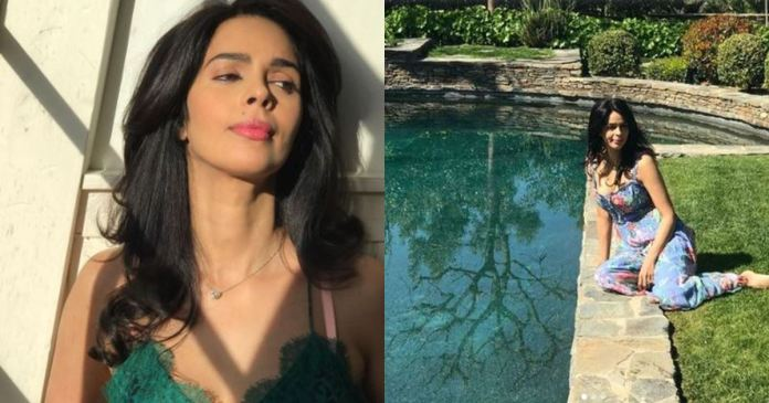 Mallika Sherawat huge Villa In Los Angeles With A Huge Garden And Pool