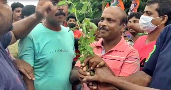 people left BJP and joined trinamool in mayureswar birbhum