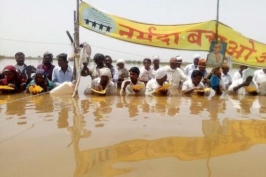 Narmada Bachao Andolan NBA Latest News on Narmada