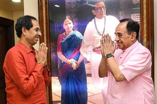 Subramanian Swamy gives clean chit to Aditya Thackeray on Sushant case