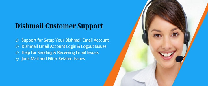 Dishmail account