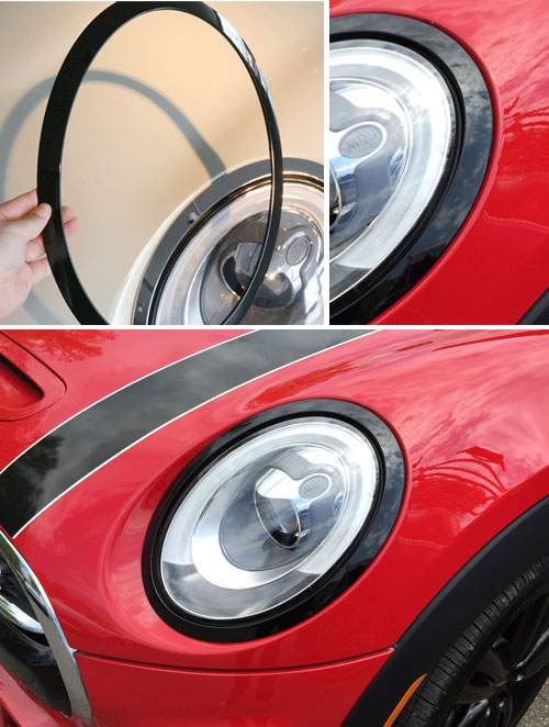 51712355791 Mini Cooper Replacement Parts Headlight Trim