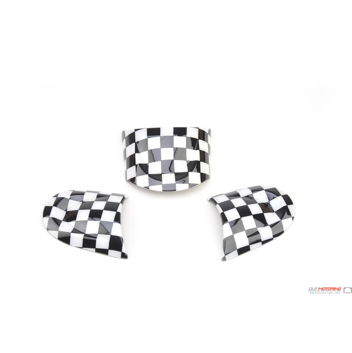 Mini Cooper Accent Steering Wheel Trim Kit R55 6 7 8 9