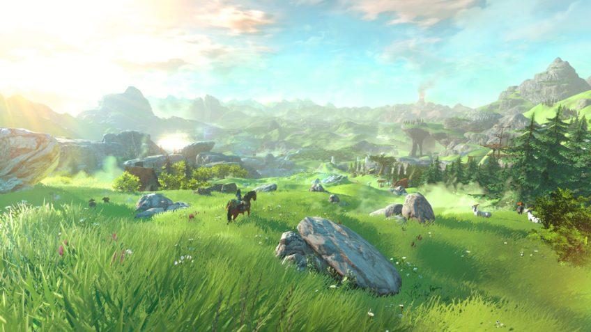 Legends of Zelda Wii U