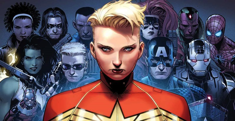 Captain Marvel CWII