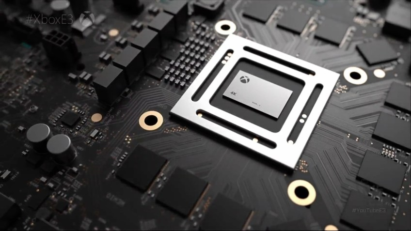Promo image for Project Scorpio from Microsoft's E3 Conference