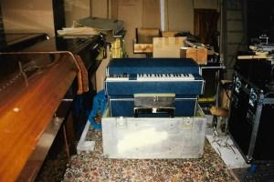 King Crimson's Mellotron M400 #354
