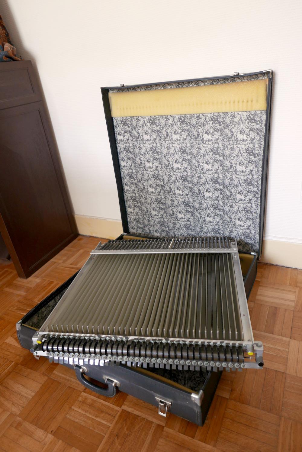 Mellotron M400 - Rack de bandes