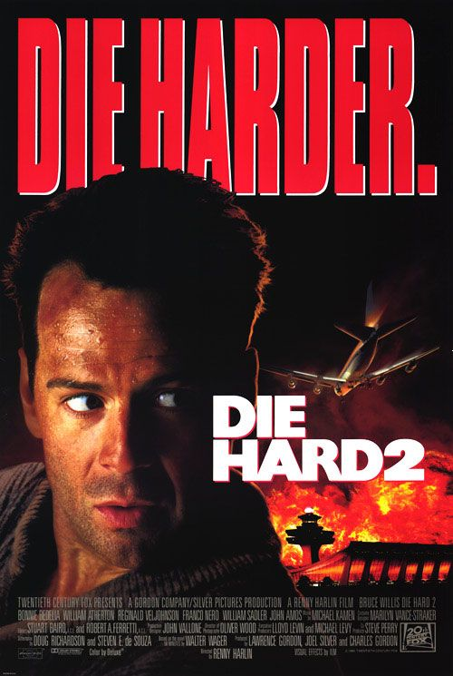 The movie poster for Die Hard 2: Die Harder