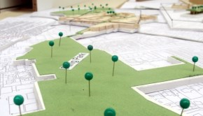 Leith Interventions: A 3D architectural model of Leith, Edinburgh.