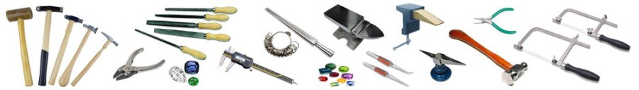 Image of a collection of jewellery tools