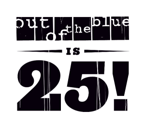 Out of the Blue Arts and Education Trust is 25 years old! logo