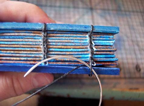 Coptic stitching