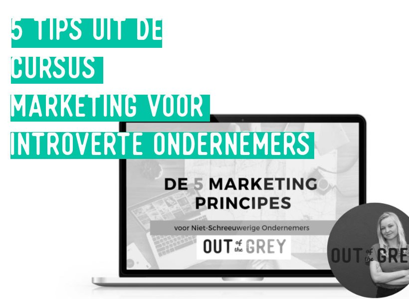 Introverte Ondernemer? Marketing doe je zo