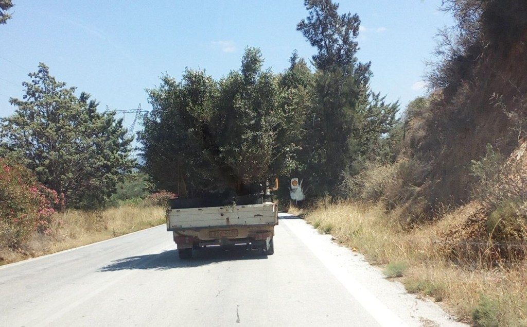 Driving down the Peloponnese