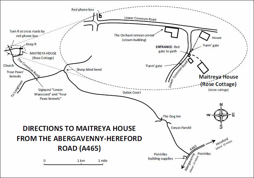 Maitreya House Location