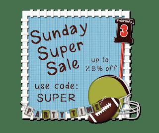 Super Sunday Sale!