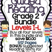 Grade 2 Guided Reading Bundle Posted and on SALE!!