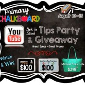 Back to School Giveaway and YouTube Party!!